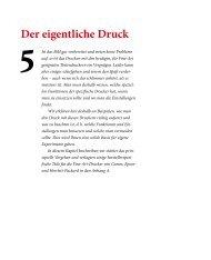 3_Der eigentliche Druck (Kapitelauszug). - dpunkt - Verlag