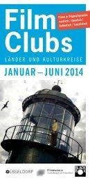Filmclubs – Länder und Kulturkreise – Januar bis Juni 2014