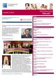 Newsletter Gleichstellung Aktuell vom 8. Oktober ... - Stadt Düsseldorf