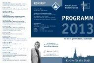 Den aktuellen Veranstaltungskalender für die ... - ekgt.de