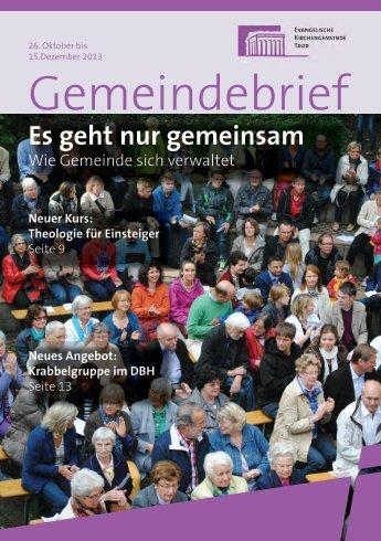 Gemeindebrief - Evangelischer Kirchenkreis Trier