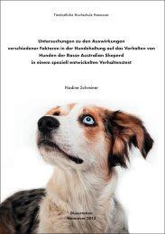 Untitled - TiHo Bibliothek elib - Tierärztliche Hochschule Hannover