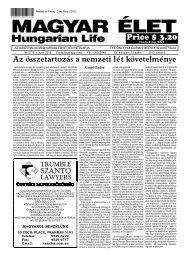 Magyar Élet - EPA