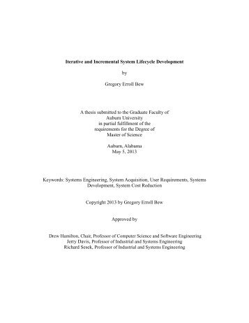 Bew Thesis Final.pdf - Auburn University Electronic Theses and ...