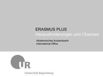 ERASMUS Management: Prozesse und Instrumente - eu-DAAD