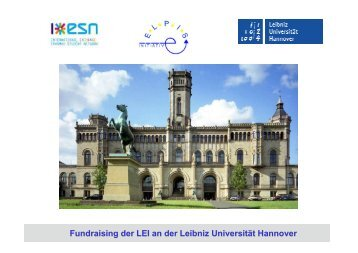 ELPIS-Initiative e.V., Leibniz-Universität Hannover - eu-DAAD