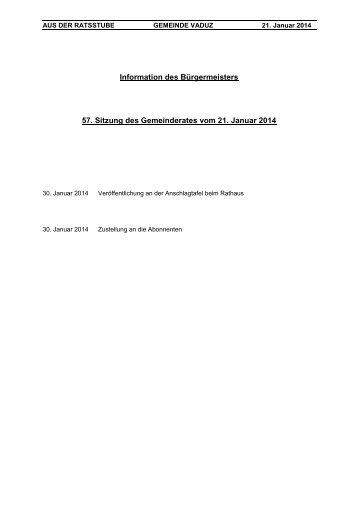 """29. Sitzung des Gemeinderates vom 3. Juli 2012 """" Kurzprotokoll"""""""