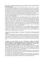 Ausländische Beschreibungen der Strelitzenrevolten von 1682 und ...