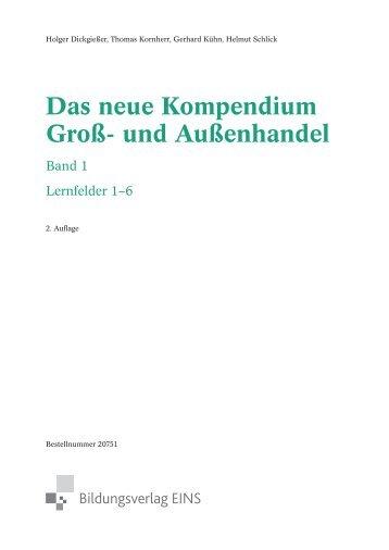 Das neue Kompendium Groß- und Außenhandel - f.sbzo.de