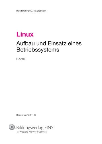 Aufbau und Einsatz eines Betriebssystems - f.sbzo.de
