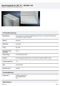 Abschlussplatte für CM, TP – CM 5001.140 - Voelkner - Seite 2