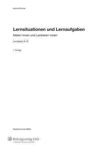 Lernsituationen und Lernaufgaben - f.sbzo.de