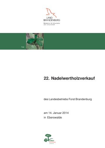 Nadel_20131220.pdf - Landesbetrieb Forst Brandenburg