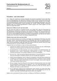 Fukushima - 2 Jahre danach - Fachverband für Strahlenschutz eV