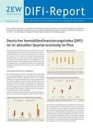 Deutscher Immobilienfinanzierungsindex (DIFI) - Zentrum für ...