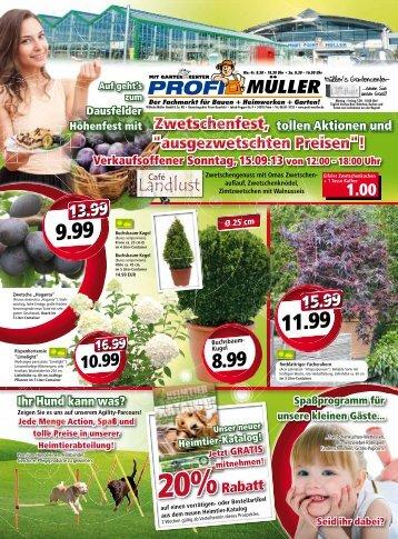 Stck. - PROFI MÜLLER - Startseite