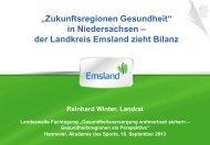 Titel der Präsentation - Landesvereinigung für Gesundheit und ...