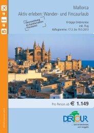 Mallorca Aktiv erleben: Wander- und Fincaurlaub