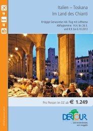 Italien – Toskana Im Land des Chianti
