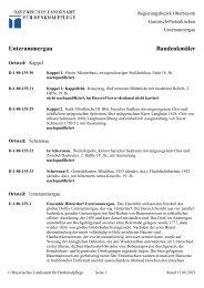 Unterammergau Baudenkmäler