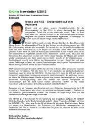 Newsletter Juni 2013 - Bündnis 90/Die Grünen Kreisverband Essen