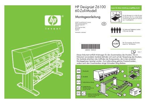 HP Designjet Z6100 60-Zoll-Modell - Hewlett-Packard