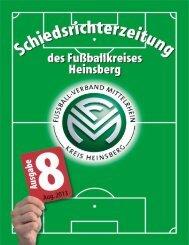 Ausgabe 08 (28.08.13) - Fußballkreis Heinsberg