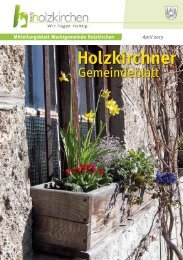 April 2013 - Holzkirchen