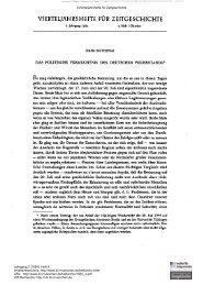 Das politische Vermächtnis des deutschen Widerstands