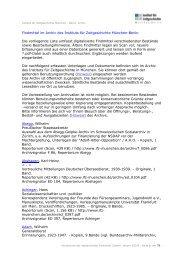 Verzeichnis der digitalisierten Findmittel - Institut für Zeitgeschichte