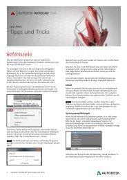 Tipps und Tricks - Autodesk