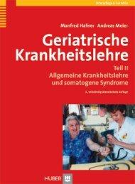 1. Allgemeine Krankheitslehre - Buch.de