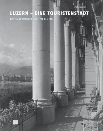 LUZERN – EINE TOURISTENSTADT - Buch.de