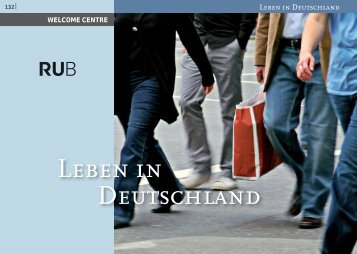 Leben in Deutschland - International - Ruhr-Universität Bochum