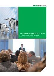 Halbjahresfinanzbericht 2013