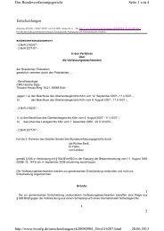 Entscheidungen 1 2 Seite 1 von 4 Das Bundesverfassungsgericht ...