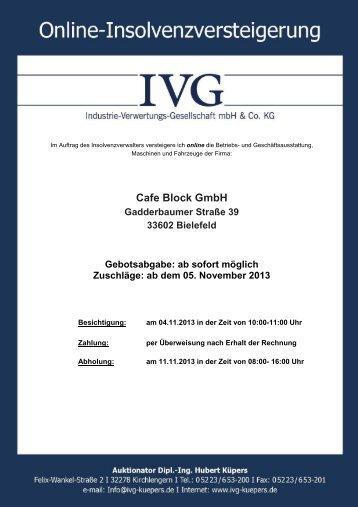 katalog cafe block