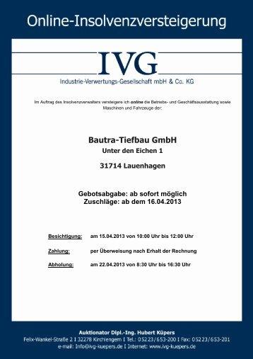 Bautra-Tiefbau GmbH - ivg-kuepers.de