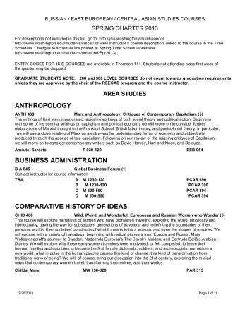 anthropology business administration comparative history of ideas