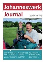 Journal September 2013 - Johanneswerk