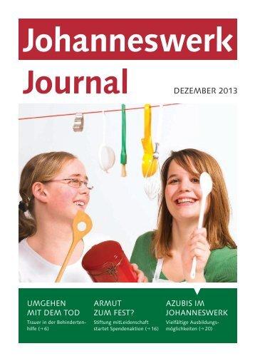 können Sie sich das aktuelle Heft vom Dezember ... - Johanneswerk