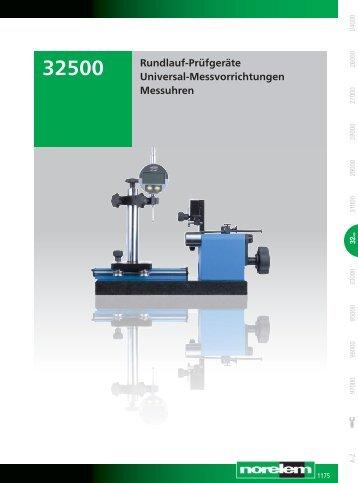 Rundlauf-Prüfgeräte Universal-Messvorrichtungen Messuhren