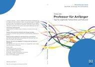 Professorinnen und Professoren - KOPS - Universität Konstanz