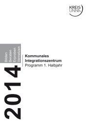 Fortbildungs- und Veranstaltungsprogramm - Kreis Unna