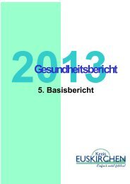 Gesundheitsbericht 2013 - 5. Basisbericht - Kreis Euskirchen