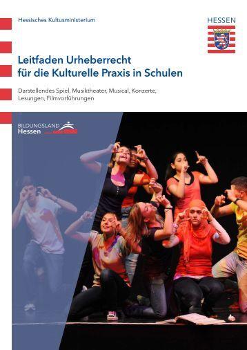 Leitfaden Urheberrecht für die Kulturelle Praxis - Kulturportal Schule ...