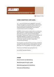 Newsletter 01/2014 - Kursnet - Bundesagentur für Arbeit