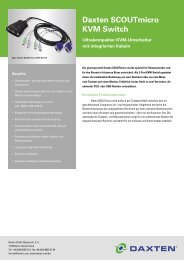 Daxten SCOUTmicro KVM Switch - Daxten GmbH