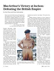 MacArthur's Victory at Inchon: Defeating the British Empire by Don ...