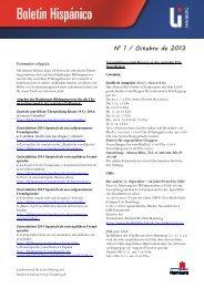 No 1 / Octubre de 2013 - Landesinstitut für Lehrerbildung und ...